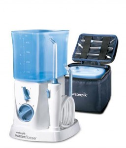 WP-300 traveler water flosser-open-case