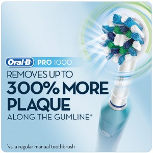 oral b pro 1000 electric toothbrush